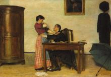 Giacomo Favretto, La tentazione | The temptation