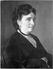 Giacomo Favretto, Ritratto della madre