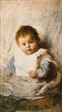 Giacomo Favretto, Ritratto di bimbo