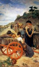 Egisto Ferroni, Alla fontana