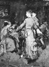 Egisto Ferroni, Il ballo