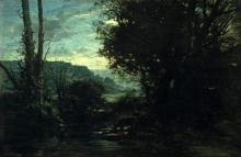 Fontanesi (attribuito a), Matin au breuvage