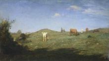 Antonio Fontanesi, Altopiano nel Bugey | Plateau in Bugey