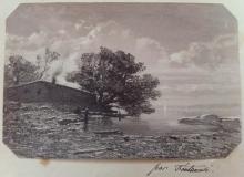 Fontanesi, Casa in riva a un lago
