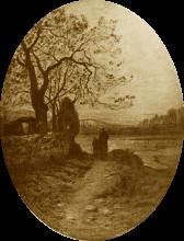 Fontanesi, Crepuscolo sul Mugnone
