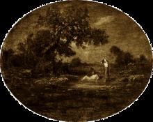 Fontanesi, Donne al bagno