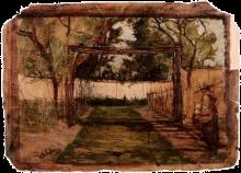Fontanesi, Il giardino del Capitano Ludovisi, Bologna