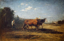 Antonio Fontanesi, Il lavoro