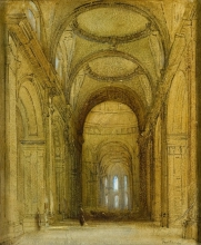 Fontanesi, Interno di S. Paolo a Londra