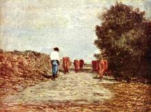 Fontanesi, L'andata al pascolo