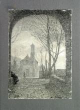 Fontanesi, La chiesuola di campagna presso il ponte