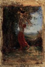 ontanesi, La raccolta delle foglie
