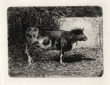 Fontanesi, Mucca in piedi