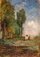 Fontanesi, Ottobre nei pressi di Torino