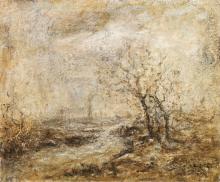 Fontanesi, Paesaggio innevato