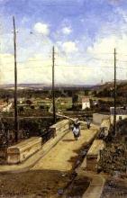 Fontanesi, Passeggiata sul ponte