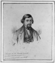 Fontanesi, Ritratto di Rodolfo Conzetti