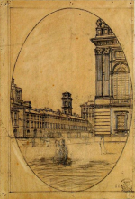 Fontanesi, Scorcio di Piazza Castello