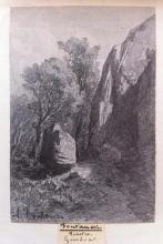 Fontanesi, Sentiero di montagna