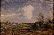 Antonio Fontanesi, Studio per Le nubi