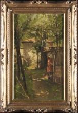 Achille Formis, Fanciulla nel bosco
