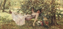 Achille Formis, Giovane donna all'ombra