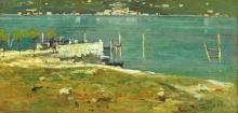 Achille Formis, In riva al lago