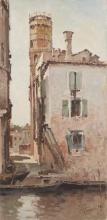 Achille Formis, La città, vista dal canale