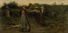 Achille Formis, La raccolta del fieno
