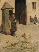 Achille Formis, La sentinella