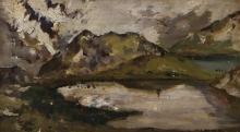Achille Formis, Lago Nero, Passo del Gavia