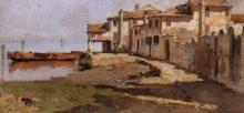 Achille Formis, Laguna a Chioggia