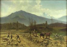 Achille Formis, Letto del fiume Lambro presso Canzo