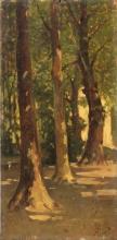 Achille Formis, Nel parco