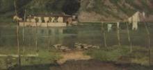 Achille Formis, Panni stesi in riva al fiume