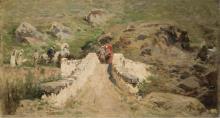 Achille Formis, Passeggiata in montagna