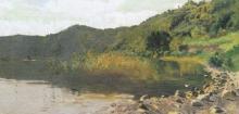 Achille Formis, Pescatore sul lago