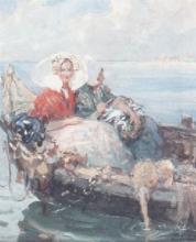 Achille Formis, Pomeriggio d'ozio sulla laguna veneziana