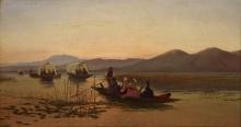 Achille Formis, Ritorno da una refezione sul lago di Varese