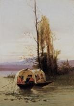 Achille Formis, Sul lago