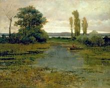 Achille Formis, Veduta del lago di Pusiano