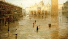 Pietro Fragiacomo, Piazza San Marco
