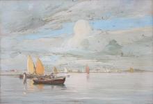 Fragiacomo, Vela nella laguna (Venezia).jpg