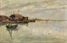 Pietro Fragiacomo, Venezia, la laguna