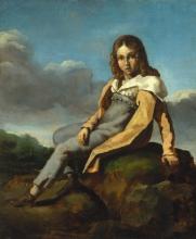 Théodore Géricault, Alfred Dedreux bambino   Alfred Dedreux enfant   Alfred Dedreux as a child