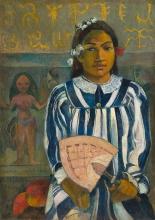 Gauguin, Aerahi metua no Tehamana   Gli antenati di Tehamana   Les ancêtres de Tehamana   The ancestors of Tehamana
