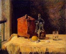 Gauguin, Alla finestra | À la fenêtre | At the window