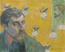 Gauguin, Autoritratto con ritratto di Emile Bernard (I miserabili) | Autoportrait avec portrait d'Émile Bernard (Les misérables) | Self portrait with portrait of Émile Bernard (Les misérables)