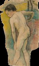 Gauguin, Bagnante bretone   Baigneuse bretonne   Breton bather