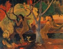 Gauguin, Bagnanti a Tahiti | Baigneuses à Tahiti | Bathers at Tahiti